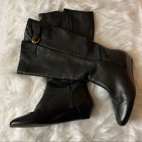 INTYCE BLACK LEATHER – Steve Madden